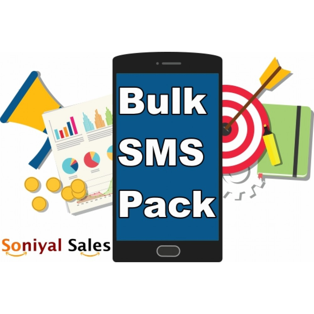 20,000 SMS Pack (1 Year Validity) - GSM Route