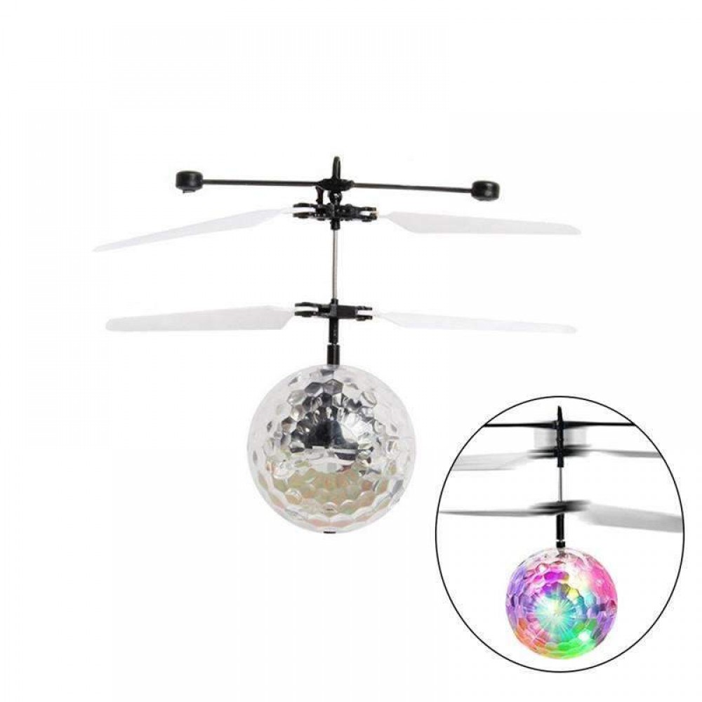 IR Hand Controlled Flying Disco Lights Ball For Kids