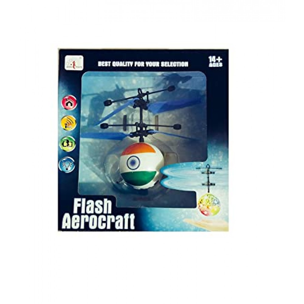 Infrared Induction Helicopter | Flash Aerocraft | IR Sensor Helicopter | Hand Induction Helicopter at Lowest Price - Soniyal